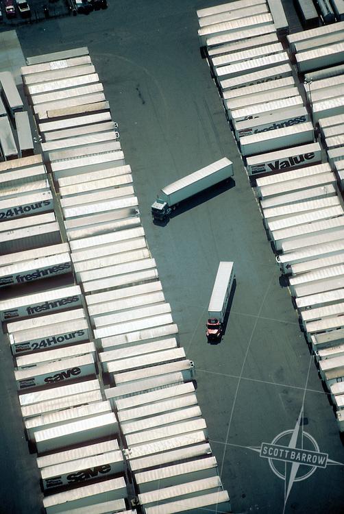 Freight depot near Newark Airport