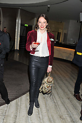 FLORENCE KEITH-ROACH at the Matthew Williamson London Fashion Week Autumn/Winter 2012 After Party held at Nobu Berkeley, London on 19th February 2012.
