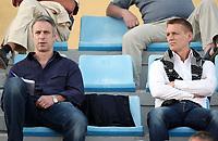 Fotball , 28. januar 2009 , Privatkamp , Tromsø - Molde<br /> <br /> Torgeir Knutsen og Fulhams Kit Symons <br /> <br /> agent