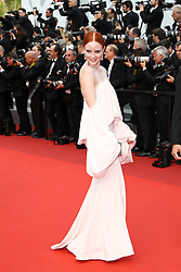 Barbara Meier, back detail, attends the 70th Anniversary of the 70th annual Cannes Film Festival at Palais des Festivals on May 23, 2017 in Cannes, France. Photo by Shootpix/ABACAPRESS.COM