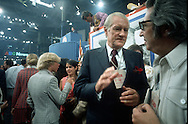 .CBS correspondent Eric Severide at the Democratic Convention in 1972..PHOTO BY DENNIS BRACK B 5