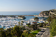 A View of the Dana Point Harbor