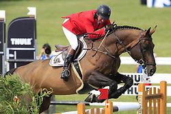 Lansink Jos (BEL) - Spender S<br /> The Meydan FEI Nations Cup<br /> Falsterbo Horse Show 2009<br /> © Hippo Foto - Leanjo de Koster