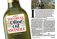 Olive Oil story for Readers Digest