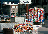 Hot Dog stand on Fifth Avenue and 79th street