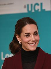 Duchess of Cambridge UCL Visit 21112018