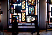 Stained Glass Galleries. The Victoria and Albert Museum aka the V&A at South Kensington, London. Known as the world's greatest museum of art and design, with collections unrivalled in their scope and diversity. Discover 3000 years' worth of amazing artefacts from many of the world's richest cultures including ceramics, furniture, fashion, glass, jewellery, metalwork, photographs, sculpture, textiles and paintings.
