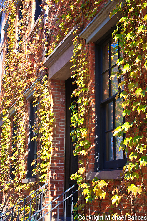 Fall in the Far West Village, West Fourth St