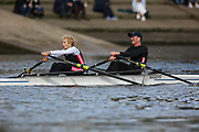 Crew: 51 - Cook / McNulty - Mortlake Anglian & Alpha Boat Club Mx MasE/G 2x <br /> <br /> Pairs Head 2020