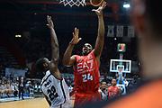 DESCRIZIONE : Caserta campionato serie A 2013/14 Pasta Reggia Caserta EA7 Olimpia Milano<br /> GIOCATORE : Samardo Samuels<br /> CATEGORIA : gancio arbitro referee<br /> SQUADRA : EA7 Olimpia Milano<br /> EVENTO : Campionato serie A 2013/14<br /> GARA : Pasta Reggia Caserta EA7 Olimpia Milano<br /> DATA : 27/10/2013<br /> SPORT : Pallacanestro <br /> AUTORE : Agenzia Ciamillo-Castoria/GiulioCiamillo<br /> Galleria : Lega Basket A 2013-2014  <br /> Fotonotizia : Caserta campionato serie A 2013/14 Pasta Reggia Caserta EA7 Olimpia Milano<br /> Predefinita :