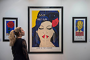 Love is the Answer, a portrait of Amy Winehouse, by Deborah Azzopardi in the Cynthia Corbett - The 29th edition of London Art Fair takes place in the Business and Design Centre, Islington, from18-22January 2017.