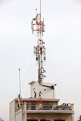 Cell Towers In Phnom Penh