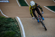 #994 (SCHMIDT Julian) GER at Round 2 of the 2020 UCI BMX Supercross World Cup in Shepparton, Australia.