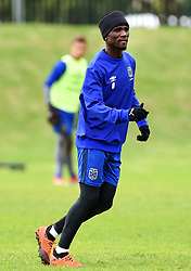 Cape Town-180801-Cape Town's Teko Modise at training session at Hartleyvale Stadium, ahead of their opening game of the 2018/2019 PSL season against Supersport United at Cape Town Stadium on saturday.Photograph:Phando Jikelo/African News Agency/ANA