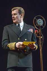© Licensed to London News Pictures. 26/03/2012. London, UK. Playful Productions and Michael Alden present the stage production of The Kings Speech, by David Seidler, at Wyndhams Theatre, London.Picture shows: Charles Edwards as Bertie (King George VI). Photo credit : Tony Nandi/LNP