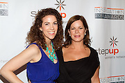 Jenni Luke, Executive Director, Step Up Women's Network and Marcia Gay Harden