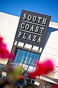 South Coast Plaza In Costa Mesa