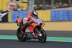 May 18, 2018 - Le Mans, France - 99 JORGE LORENZO (ESP) DUCATI TEAM (ITA) DUCATI DESMOCEDICI GP18 (Credit Image: © Panoramic via ZUMA Press)
