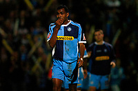 Photo: Richard Lane.<br />Cheltenham Town v Wycombe Wanderers. Coca Cola League 2. Play off Semi Final, 2nd Leg. 18/05/2006. <br />Wycombe's Kevin Betsy dejection.