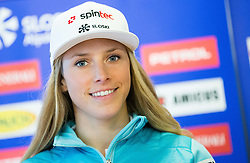 Ana Bucik during official presentation of the outfits of the Slovenian Ski Teams before new season 2016/17, on October 18, 2016 in Planica, Slovenia. Photo by Vid Ponikvar / Sportida