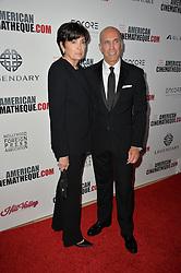 Jeffrey Katzenberg & Marilyn Katzenberg bei der 30th Annual American Cinematheque Awards Gala in Beverly Hills / 141016