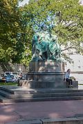 Statue of Johann Wolfgang von Goethe, near Goethegasse, Vienna, Austria