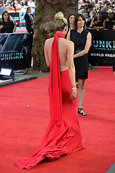 © Licensed to London News Pictures. 13/07/2017. London, UK. SHONA GUERIN, the boyfriend of BARRY KEOGHAN attends the Dunkirk World Film Premiere. Photo credit: Ray Tang/LNP