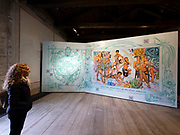 """58th Art Biennale Venice """"May You Live in Interesting Times"""" curated by Ralph Rugoff. Peru pavillion, """"Indios Antropófagos"""". Christian Bendayán, """"Trans Tropicália""""."""