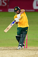 Steven Mullaney of Nottinghamshire during the Vitality T20 Blast North Group match between Nottinghamshire County Cricket Club and Leicestershire County Cricket Club at Trent Bridge, Nottingham, United Kingdom on 1 October 2020.