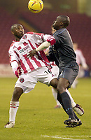 Photo Pete Downing<br />Sheffield Utd V Burnley.<br />Nationwide division one.<br /> 8/11/ 2003.<br /> Peter Ndlovu in action for Sheffield.<br />Photo:Peter Downing