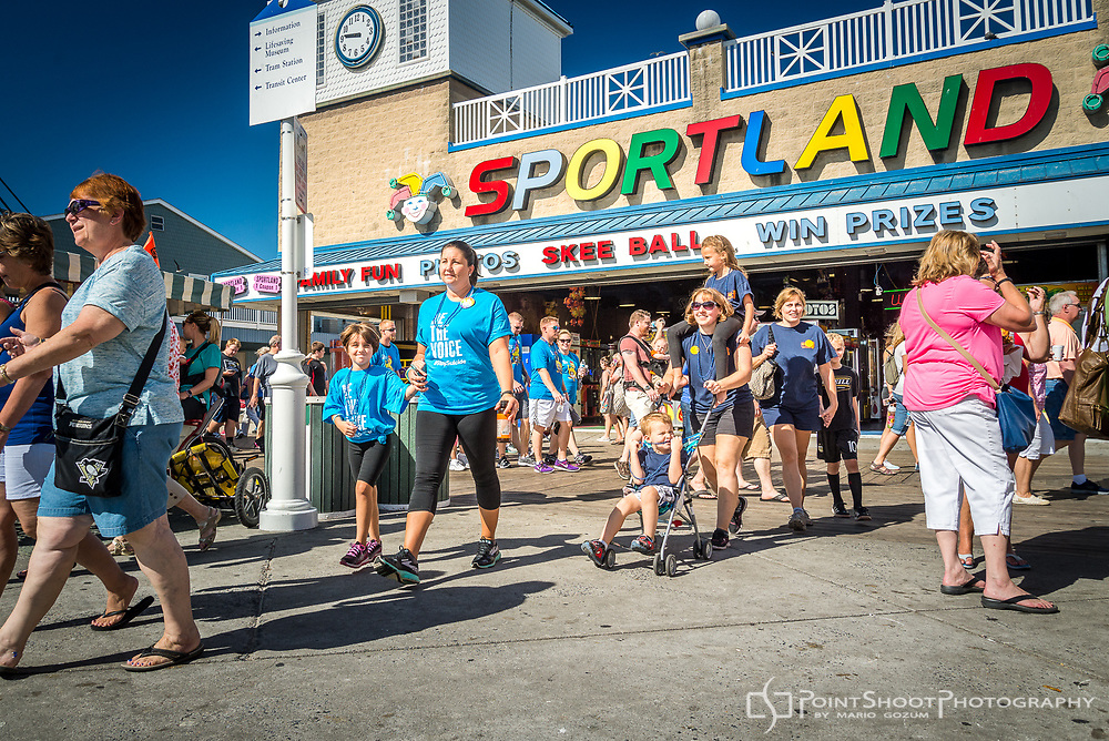AFSP 2017 Ocean City Out of the Darkness Community Walk. Ocean City, MD<br /> <br /> Ocean City, MD Event photography by Severna Park, MD photographer, Mario Gozum - PointShoot Photography