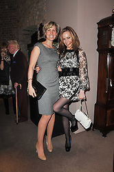 Left to right, sisters SANTA SEBAG-MONTEFIORE and TARA PALMER-TOMKINSON at a party to celebrate the launch of Simon Sebag-Montefiore's new book - 'Jerusalem: The Biography' held at Asprey, 167 New Bond Street, London on 26th January 2011.