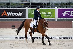 Karolina Karwowska, (POL), Emol - Team Competition Grade III Para Dressage - Alltech FEI World Equestrian Games™ 2014 - Normandy, France.<br /> © Hippo Foto Team - Jon Stroud <br /> 25/06/14