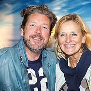 NLD/Amsterdam/20150914 - Premiere 3D Imax film Everest, henkjan Smits en partner Petra Morselt
