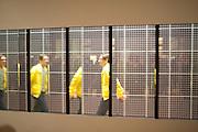 JEREMY DELLER, Opening of Eadweard Muybridge and Rachel Whiteread exhibitions. Tate Britain. Millbank. 6 September 2010. -DO NOT ARCHIVE-© Copyright Photograph by Dafydd Jones. 248 Clapham Rd. London SW9 0PZ. Tel 0207 820 0771. www.dafjones.com.