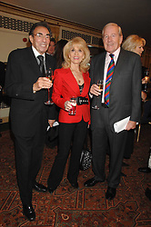 Left to right, MICHAEL & JULIE BLACK and NEIL DURDEN-SMITH at a tribute lunch for Elaine Paige hosted by the Lady Taverners at The Dorchester, Park Lane, London on 13th November 2007.<br />