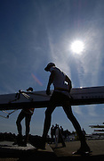 2006, National Rowing Championships,  Strathclyde Country Park,  TSS M8+, Boating, Motherwell, SCOTLAND. 15.07.2006.  Photo  Peter Spurrier/Intersport Images email images@intersport-images.com.... Rowing Course, Strathclyde Country Park,  Motherwell, SCOTLAND. Sunrise, Sunsets, Silhouettes