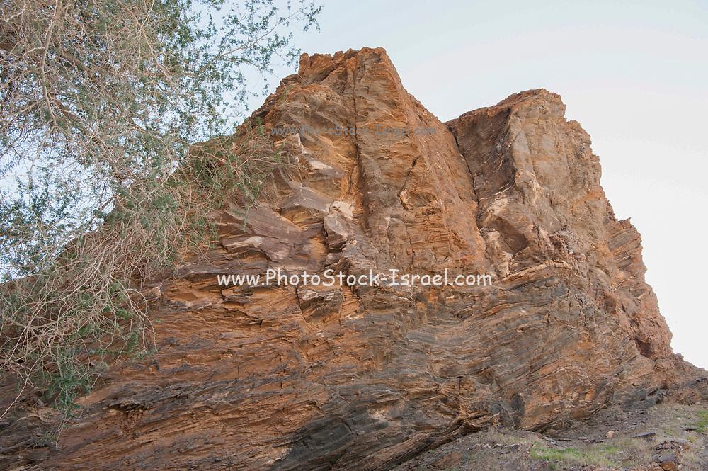 Coloured rocks, Brandberg Mountain, Damaraland, Namibia