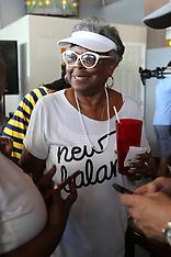 Coco Gauff's 'G-Ma' Yvonne Odom -  7 July 2019