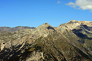 Italy, Alps mountain peak