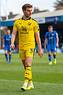 Oxford United defender Luke Garbutt  (3) during the EFL Sky Bet League 1 match between Gillingham and Oxford United at the MEMS Priestfield Stadium, Gillingham, England on 9 March 2019.