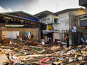 14 OCTOBER 2015 - BANGKOK, THAILAND: A destroyed home in the Wat Kalayanamit neighborhood. Fifty-four homes around Wat Kalayanamit, a historic Buddhist temple on the Chao Phraya River in the Thonburi section of Bangkok, are being razed and the residents evicted to make way for new development at the temple. The abbot of the temple said he was evicting the residents, who have lived on the temple grounds for generations, because their homes are unsafe and because he wants to improve the temple grounds. The evictions are a part of a Bangkok trend, especially along the Chao Phraya River and BTS light rail lines. Low income people are being evicted from their long time homes to make way for urban renewal.         PHOTO BY JACK KURTZ