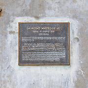 Apollo 1 launch pad, launch complex 34 where the Apollo 1 tragedy occured.