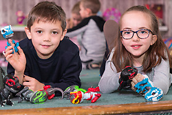 Ahead of Christmas the Dream Toys exhibition at St Mary's Church in Marylebone, London showcases the hottest toys in the market including the top twelve. London, November 14 2018.
