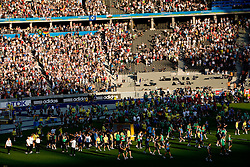 Closing ceremony at the end of day nine of the 12th IAAF World Athletics Championships at the Olympic Stadium on August 23, 2009 in Berlin, Germany. (Photo by Vid Ponikvar / Sportida)