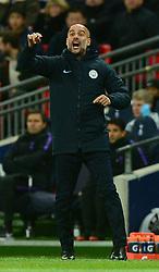 Manchester City manager Pep Guardiola - Mandatory by-line: Alex James/JMP - 29/10/2018 - FOOTBALL - Wembley Stadium - London, England - Tottenham Hotspur v Manchester City - Premier League