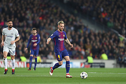 March 14, 2018 - Barcelona, Spain - IVAN RAKITIC of FC Barcelona during the UEFA Champions League, round of 16, 2nd leg football match between FC Barcelona and Chelsea FC on March 14, 2018 at Camp Nou stadium in Barcelona, Spain (Credit Image: © Manuel Blondeau via ZUMA Wire)