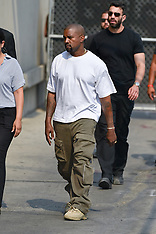 Kanye West is seen at 'Jimmy Kimmel Live' - 9 Aug 2018