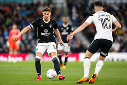 Tom Cairney of Fulham takes on Tom Lawrence of Derby County - Mandatory by-line: Robbie Stephenson/JMP - 11/05/2018 - FOOTBALL - Pride Park Stadium - Derby, England - Derby County v Fulham - Sky Bet Championship