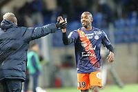 joie but Souleymane CAMARA (MHSC)